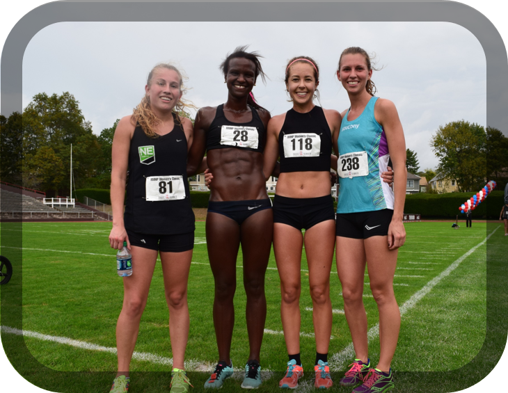 NE Distance Elite Women take the team title at the RMHP of Providence Women's Classic 5k
