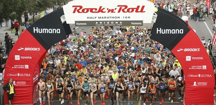 Dylan Hassett Places Second, Henry Sterling Fifth in 2019 Humana  Rock 'n' Roll Arizona Half Marathon